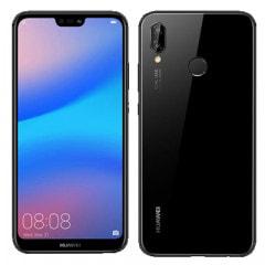 【ネットワーク利用制限▲】Huawei P20 lite ANE-LX2J (HWU34) Midnight Black【UQモバイル版  SIMフリー】