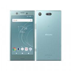 【SIMロック解除済】【ネットワーク利用制限▲】docomo Xperia XZ1 Compact SO-02K Horizon Blue