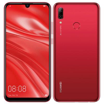 イオシス|HUAWEI nova lite 3 POT-LX2J Coral Red 【国内版 SIMフリー】