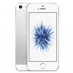 【SIMロック解除済】au iPhoneSE 32GB A1723 (MP832J/A) シルバー画像