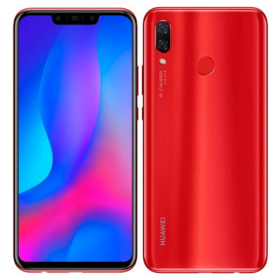イオシス Huawei nova3 PAR-LX9 Red【国内版 SIMフリー限定カラー】
