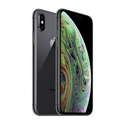 イオシス|【SIMロック解除済】docomo iPhoneXS A2098 (MTE32J/A) 512GB スペースグレイ