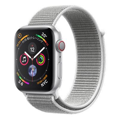 イオシス Apple Watch Series4 GPS + Cellularモデル 44mm MTVT2J/A 【シルバーアルミニウム/シーシェルスポーツループ】