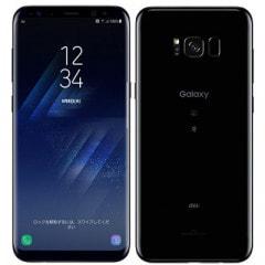 【SIMロック解除済】 au SAMSUNG Galaxy S8+ SCV35 Midnight Black