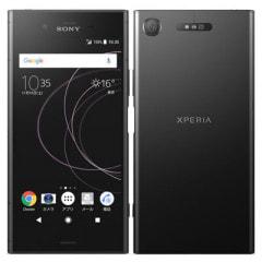 【SIMロック解除済】Softbank Xperia XZ1 701SO Black