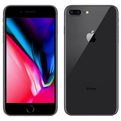 イオシス 【SIMロック解除済】au iPhone8 Plus 64GB A1898 (MQ9K2J/A) スペースグレイ