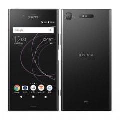 【SIMロック解除済】au Sony Xperia XZ1 SOV36 Black