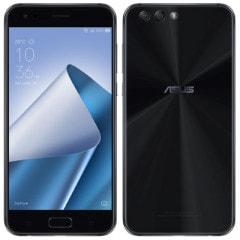 ASUS Zenfone4 Dual-SIM ZE554KL-BK64S4I 64GB RAM4GB Midnight Black【IIJmio版】