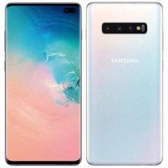 Samsung Galaxy S10+ (Plus) Dual-SIM SM-G9750 【8GB 128GB Prism White 香港版 SIMフリー】