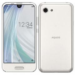 【SIMロック解除済】Softbank AQUOS R compact 701SH ムーンホワイト