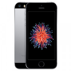 【SIMロック解除済】au iPhoneSE 32GB A1723 (MP822J/A) スペースグレイ画像