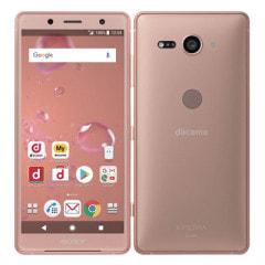 【SIMロック解除済】【ネットワーク利用制限▲】docomo Sony Xperia XZ2 Compact SO-05K Coral Pink