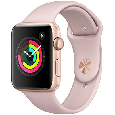 イオシス Apple Watch Series3 GPSモデル 42mm MQL22J/A [ゴールドアルミニウム/ピンクサンドスポーツバンド ]