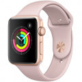 Apple Watch Series3 GPSモデル 42mm MQL22J/A [ゴールドアルミニウム/ピンクサンドスポーツバンド ]
