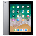 【SIMロック解除済】【ネットワーク利用制限▲】【第6世代】au iPad2018 Wi-Fi+Cellular 32GB スペースグレイ MR6N2J/A A1954