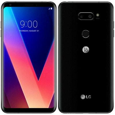 イオシス|LG V30 LGM-V300S Black【海外版 SIMフリー】