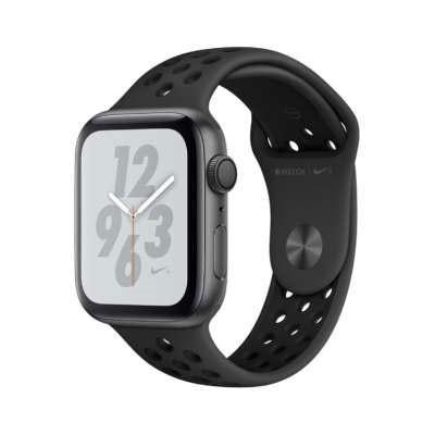 イオシス|Apple Watch Nike+ Series4 GPSモデル 44mm MU6L2J/A [アンスラサイト/ブラックNikeスポーツバンド]