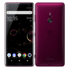 【SIMロック解除済】SoftBank Xperia XZ3  801SO Bordeaux Red