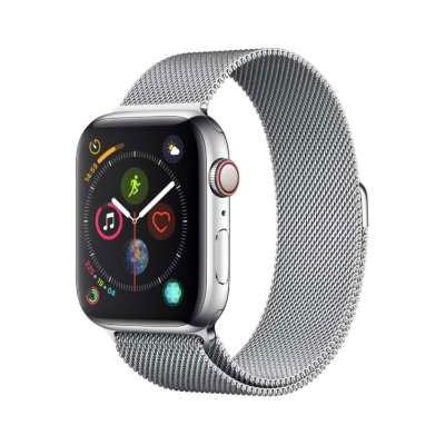 イオシス|Apple Watch Series4 44mm GPS+Cellularモデル MTX12J/A A2008【ステンレススチールケース/ミラネーゼループ】