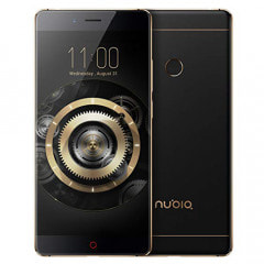 Nubia X Dual-SIM  【Black Gold 8GB 256GB 中国版 SIMフリー】