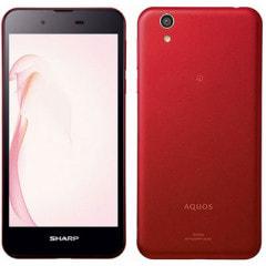 AQUOS SH-M04 Red 【楽天版】