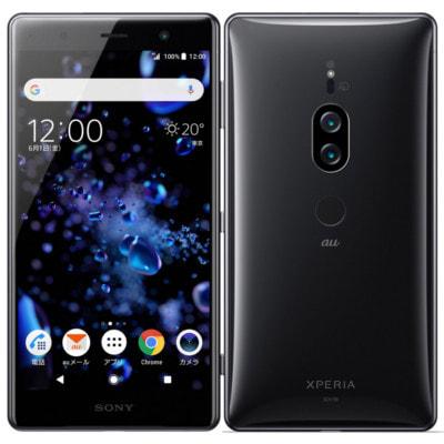 イオシス 【SIMロック解除済】au Sony Xperia XZ2 Premium SOV38  Chrome Black
