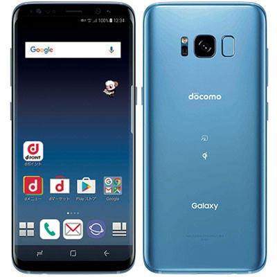 イオシス|【SIMロック解除済】【ネットワーク利用制限▲】docomo Galaxy S8 SC-02J Coral Blue