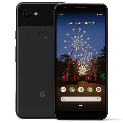イオシス|【SIMロック解除済】Softbank Google Pixel3a G020H [Just Black 64GB]