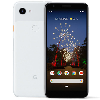 イオシス|【SIMロック解除済】Softbank Google Pixel3a G020H [Clearly White 64GB]