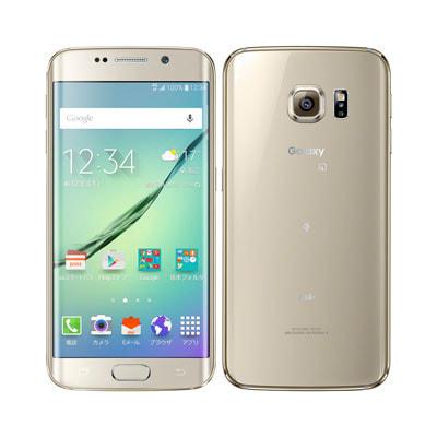 イオシス 【SIMロック解除済】au Galaxy S6 edge SCV31 64GB Gold Platinum
