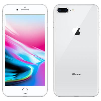 イオシス|【SIMロック解除済】au iPhone8 Plus 64GB A1898 (MQ9L2J/A) シルバー【2018】