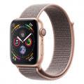 Apple Watch Series4 44mm GPSモデル MU6G2J/A A1978【ゴールドアルミニウムケース/ピンクサンドスポーツループ】