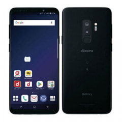 【SIMロック解除済】docomo Galaxy S9+ (Plus) SC-03K Midnight Black