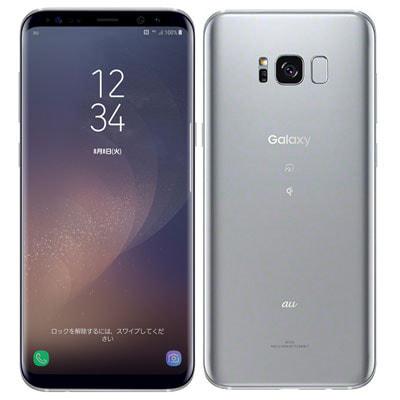 イオシス|au SAMSUNG Galaxy S8+ (Plus) SCV35 Arctic Silver