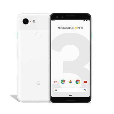 イオシス|【SIMロック解除済】Softbank Google Pixel3 G013B [Clearly White 64GB]