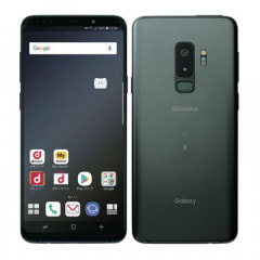 【SIMロック解除済】docomo Galaxy S9+ (Plus) SC-03K Titanium Gray