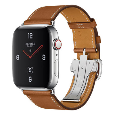 イオシス|Apple Watch Hermes Series4 44mm GPS+Cellular MU742J/A [シンプルトゥールディプロイアントバックル/ヴォー・バレニア(フォーヴ)レザーストラップ]