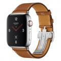 Apple Watch Hermes Series4 44mm GPS+Cellular MU742J/A [シンプルトゥールディプロイアントバックル/ヴォー・バレニア(フォーヴ)レザーストラップ]