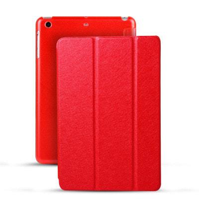 イオシス|【スリープ機能対応】 iPad Air2用スマートカバー 【背面保護ケース付】 レッド