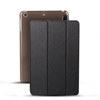 イオシス|【スリープ機能対応】 iPadmini5用スマートカバー 【背面保護ケース付】 ブラック