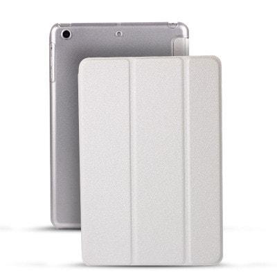 イオシス|【スリープ機能対応】 iPadmini5用スマートカバー 【背面保護ケース付】 ホワイト