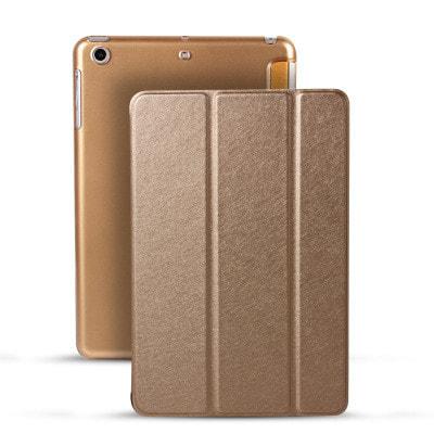イオシス|【スリープ機能対応】 iPadmini5用スマートカバー 【背面保護ケース付】 ゴールド