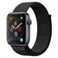 Apple Watch Series4 44mm GPSモデル MU6E2J/A A1978【スペースグレイアルミニウムケース/ブラックスポーツループ】