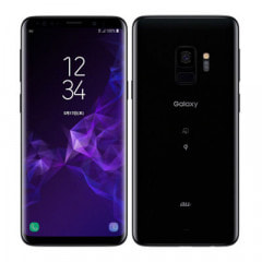 【SIMロック解除済】au Galaxy S9 SCV38 Midnight Black