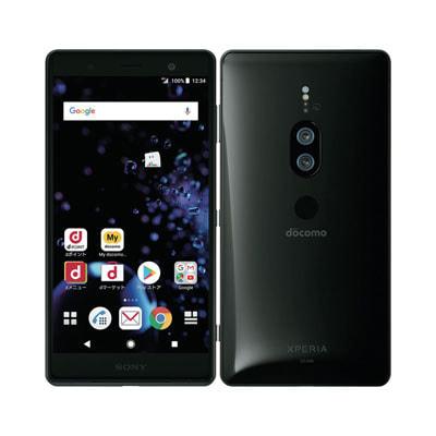 イオシス|【SIMロック解除済】【ネットワーク利用制限▲】docomo Sony Xperia XZ2 Premium SO-04K Chrome Black