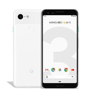 イオシス|【SIMロック解除済】【ネットワーク利用制限▲】Softbank Google Pixel3 G013B [Clearly White 64GB]