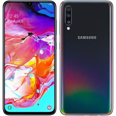 イオシス|Samsung Galaxy A70 Dual-SIM SM-A7050 【8GB 128GB Black 海外版 SIMフリー】