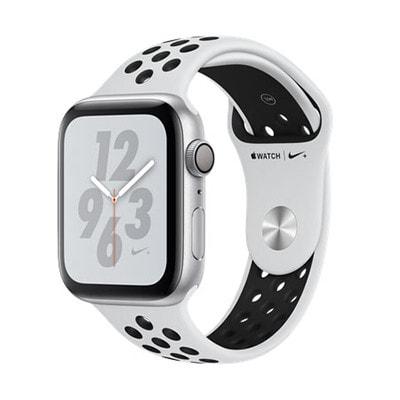 イオシス|Apple Watch Nike+ Series4 GPSモデル 44mm MU6K2J/A ピュアプラチナム/ブラックNikeスポーツバンド