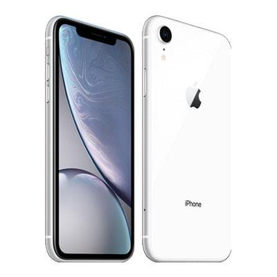 イオシス|【SIMロック解除済】au iPhoneXR A2106 (MT032J/A) 64GB ホワイト