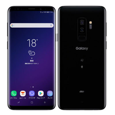 イオシス|【SIMロック解除済】au Galaxy S9+ (Plus) SCV39 Midnight Black